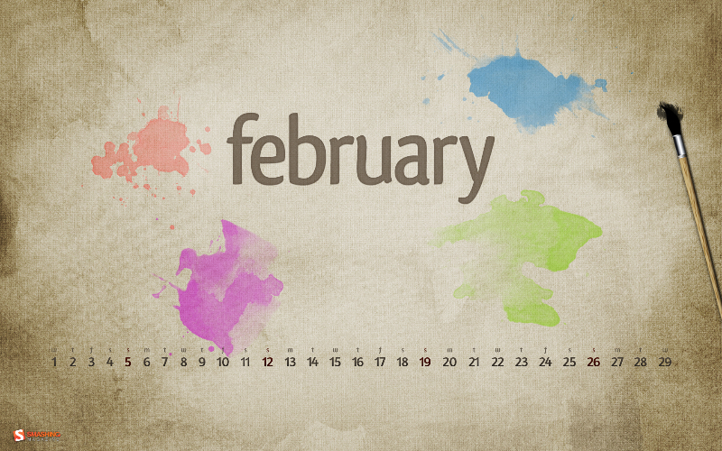 February Splashes - Designed by Roland Szabу from Hungary.